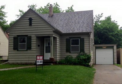 3 Bdrm 1 Bath House For Rent In Sioux Falls 3 Bedroom House 10576
